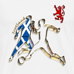 scotland football player T-Shirts - Men's Premium T-Shirt