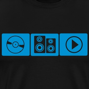 Play the Music t-shirt - Männer Premium T-Shirt
