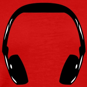 headphone T-shirts - Premium-T-shirt herr