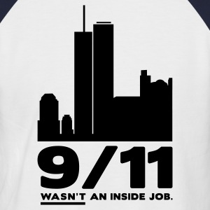 Never Forget 9/11 - Männer Baseball-T-Shirt