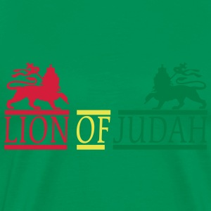 lion of judah T-shirts - Mannen Premium T-shirt