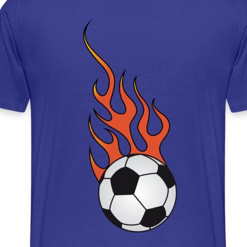 football soccer flaming 2