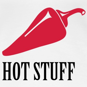 Hot Stuff T-Shirts - Dame premium T-shirt