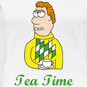 Tea Time T-skjorter - Premium T-skjorte for kvinner
