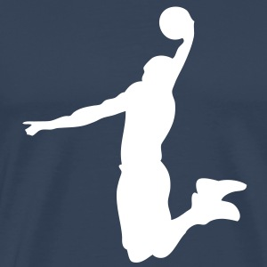 basketball dunk player2 Tee shirts - T-shirt Premium Homme
