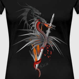 Dragon of the sword  T-Shirts - Women's Premium T-Shirt