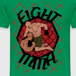 fight mma T-skjorter - Premium T-skjorte for menn