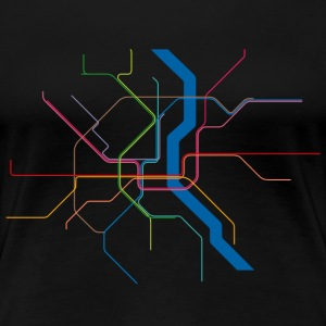 Subway Cologne - Frauen Premium T-Shirt