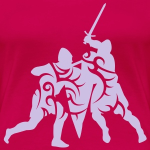 Sword fight tribal T-Shirts - Women's Premium T-Shirt