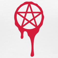 pentagram, five star, 5 star pentagram, blood, spl