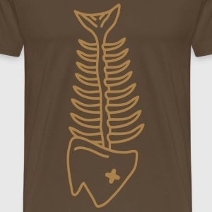 death_fish T-shirts - Mannen Premium T-shirt