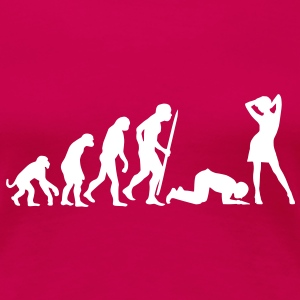 End of evolution T-Shirts - Frauen Premium T-Shirt