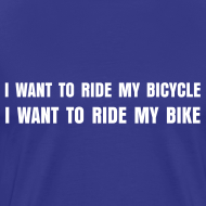 Design ~ I want to ride my bicycle