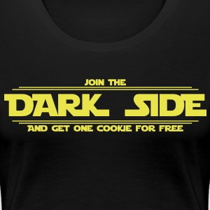 Dark Side T-Shirts - Frauen Premium T-Shirt