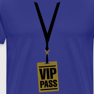 VIP pass T-Shirts - Men's Premium T-Shirt