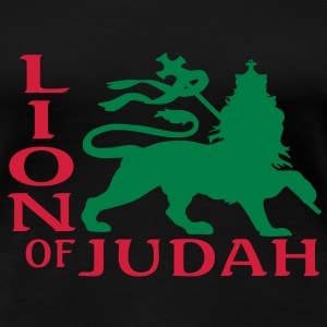 lion of judah T-shirts - Vrouwen Premium T-shirt