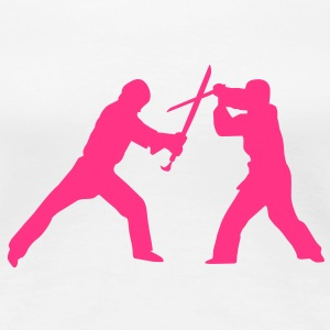 Sword fight T-Shirts - Women's Premium T-Shirt