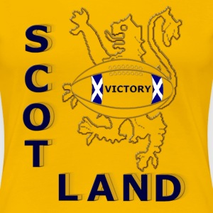 scotland victory rugby  T-Shirts - Women's Premium T-Shirt