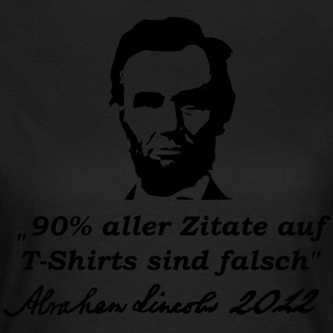Zitat - Abraham Lincoln