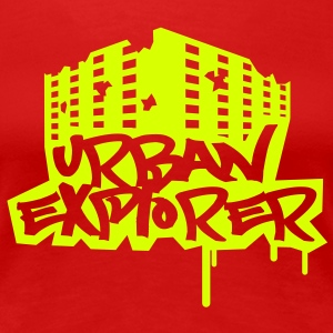 Urban Explorer  - 1color - T-shirt Premium Femme
