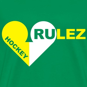 Hockey rulez 2-colours T-Shirts - Men's Premium T-Shirt