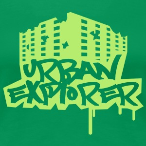 Urban Explorer  - 1color - Dame premium T-shirt