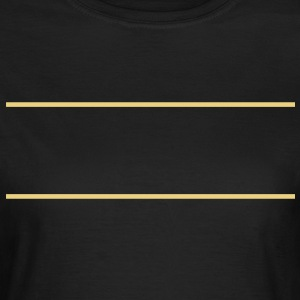 2_lines T-shirts - Vrouwen T-shirt