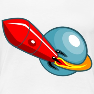 Retro Rocket T-Shirts - Frauen Premium T-Shirt