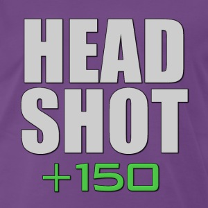 Headshot +150 T-Shirts - Men's Premium T-Shirt