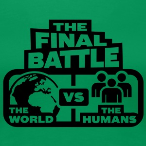 world versus humans T-Shirts - Women's Premium T-Shirt