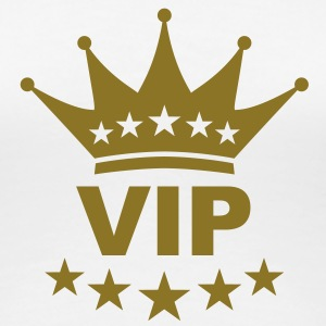 vip_king_crown_1c T-shirts - Vrouwen Premium T-shirt