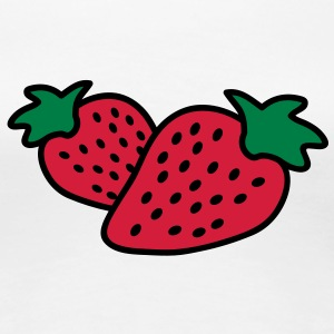 strawberrys T-Shirts - Women's Premium T-Shirt