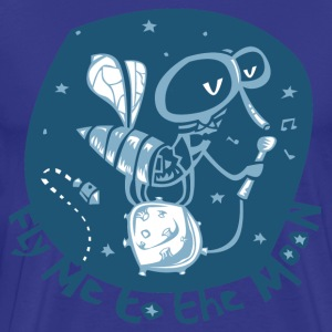 fly me to the moon T-Shirts - Men's Premium T-Shirt