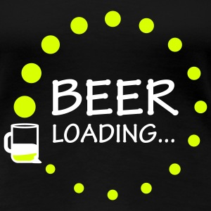 beer_loading T-Shirts - Frauen Premium T-Shirt