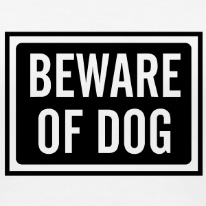 beware_of_dog_100 T-Shirts - Women's Premium T-Shirt