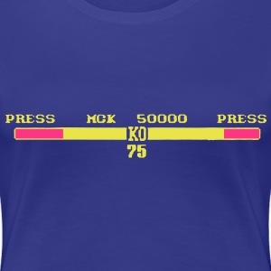 2 Person Fight Game KO Scores T-Shirts - Women's Premium T-Shirt