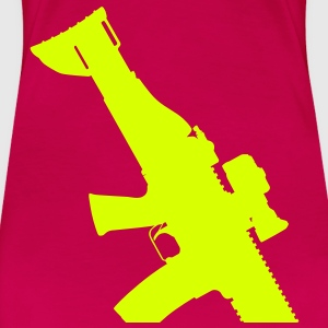 FN SCAR Assault Rifle T-Shirts - Women's Premium T-Shirt