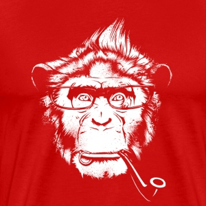 Ironic Chimp Shirt - Men's Premium T-Shirt