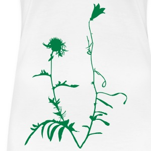 French Alpine Flowers for Ladies - Women's Premium T-Shirt