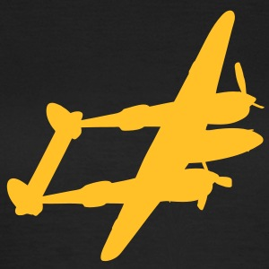 Lockheed P-38 Lightning Fighter Aircraft for Ladies - Women's T-Shirt