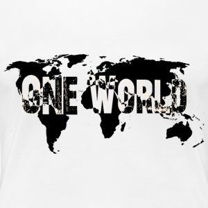 One World 3 - Frauen Premium T-Shirt