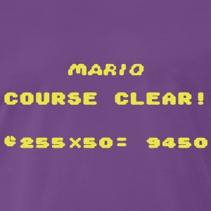 Mario Course Clear! T-Shirts - Men's Premium T-Shirt