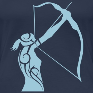 Archery tribal T-shirt - Women's Premium T-Shirt