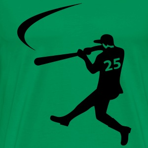 Baseball Mäns Big & Tall Shirt - Premium-T-shirt herr