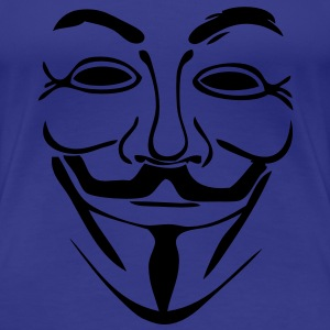 anonymous mask masque4 Tee shirts - T-shirt Premium Femme