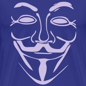 anonymous mask masque4 Tee shirts - T-shirt Premium Homme