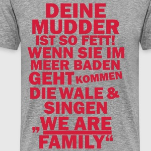 We are family T-Shirts - Männer Premium T-Shirt