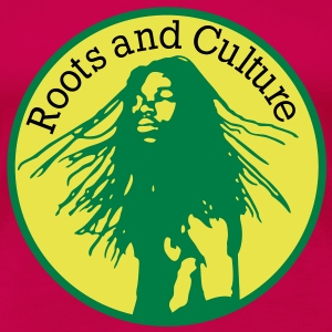 roots and culture T-shirts - Premium-T-shirt dam