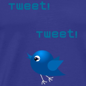 Tweet Birdy - Men's Premium T-Shirt