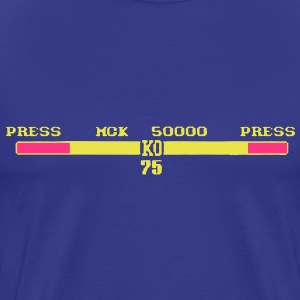 2 Person Fight Game KO Scores T-Shirts - Men's Premium T-Shirt